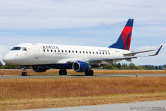 N603CZ Delta Connection Embraer ERJ-175LR@YYJ 24Jun19 (Spotter Brandon) Tags: n603cz delta deltaconnection embraer erj erj175 erj175lr compassairlines yyj cyyj victoria