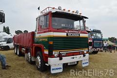 Add Watermark20190625033106 (richellis1978) Tags: truck lorry haulage transport logistics kelsall show 2019 john thompson rigid 8 141 v8 ojz141 scania