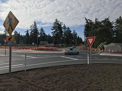 SR 20 and Banta/Northgate Roundabout - Whidbey Island (WSDOT) Tags: wsdot island county sr 20 whidbey state route intersection improvements naval air station nas banta road northgate aveneu oak harbor ab roundabout construction roads