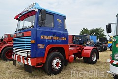 Add Watermark20190625032800 (richellis1978) Tags: truck lorry haulage transport logistics kelsall show 2019 scania 111 stuart dent mea822v