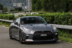 Switzerland (Schaffhausen) - Nissan GT-R 2017 (PrincepsLS) Tags: switzerland swiss license plate spotting sh schaffhausen bellinzona nissan gtr 2017