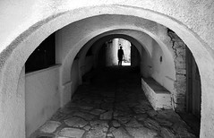 (cherco) Tags: tunnel tunel silhouette solitario solitary silueta shadow sombra street solo mykonos greece alone architecture arquitectura aloner arch arco adoquinado lonely light luz composition canon composicion city ciudad chica blackandwhite monochrome mujer markiii mystery misterio