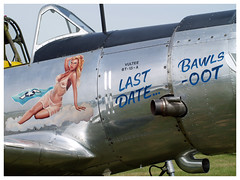 VULTEE BT-13/SNV VALIANT (Aerofossile2012) Tags: vultee bt13snv valiant avion aircraft aviation meeting airshow meaux esbly 2018 noseart pinup
