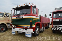 Add Watermark20190625033056 (richellis1978) Tags: truck lorry haulage transport logistics kelsall show 2019 john thompson rigid 8 141 v8 ojz141 scania