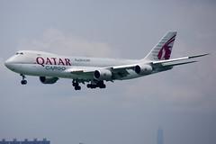 Qatar Airways Cargo | Boeing | 747-87UF | A7-BGB (TFG Lau) Tags: vhhh hkia hongkong hongkonginternationalairport skydeck airplane aeroplane aircraft plane aviation planespotting spotting canon canoneos canon5dmarkiii eos eos5dmarkiii ahkgap qatarairways qtr qr boeing747 b747 b747f b7478 7478f a7bgb cargoplane cargojet