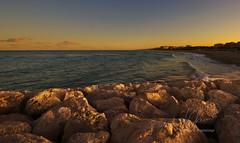 DSC_0220-1 (stefano.paglialunga1) Tags: tramonto mare civitanovamarche reflex fotoreflex landscape rossodisera spiaggia scogli outdoors