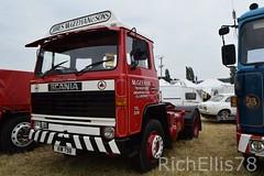 Add Watermark20190625033047 (richellis1978) Tags: truck lorry haulage transport logistics kelsall show 2019 scania 81 mcgeehan aiw798