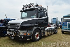 Add Watermark20190625032823 (richellis1978) Tags: truck lorry haulage transport logistics kelsall show 2019 scania t bonneted oil6230