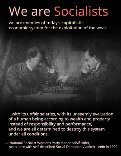 We Are Socialists — Hitler and Lenin