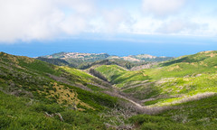 I think this is a view towards Calheta
