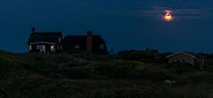 hyggelig (ulrichcziollek) Tags: dänemark fanoe nacht mondschein dunkel ferienhaus