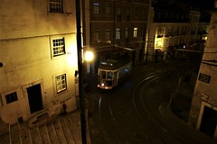 a sense of belonging (*F~) Tags: lisboa portugal tramway streetcar light night nuit nostalgia nocturne sacred space street time thehours