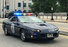 Chevrolet Camaro Police Vehicle (10-42Adam) Tags: chevrolet chevy camaro police lightbar parade policeweek lights lawenforcement