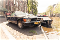 1980 Mercedes-Benz 280 SLC (Chris 1971) Tags: 1980 mercedesbenz 280 slc cabriolet convertible jg394t amsterdam oldtimer classic