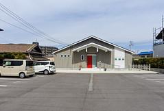 RED G House (m-louis) Tags: 6713mm j5 nikon1 door house japan kaizuka osaka parking 大阪 日本 貝塚
