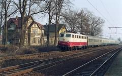 114 502 Osnabrück-Eversburg (A. Lippincott) Tags: db bahn train zug railway eisenbahn deutsche bundesbahn osnabrück eversburg niedersachsen baureihe 114 e10 nahverkehrszug bahnhof station