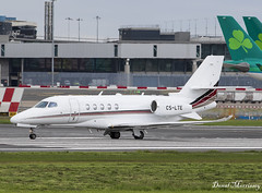 NetJets Cessna 680 Citation Latitude CS-LTE (birrlad) Tags: dublin dub international airport ireland aircraft aviation airplane airplanes bizjet private passenger jet taxi taxiway takeoff departing departure runway netjets cslte textron 680 citation latitude c68a fraction