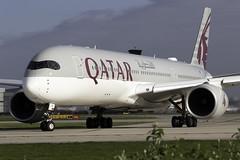Qatar Airways A350-900 A7-ALW at Manchester Airport MAN/EGCC (dan89876) Tags: qatar airways airbus a350 xwb a359 a350900 a350941 a7alw manchester international airport takeoff 23l man egcc