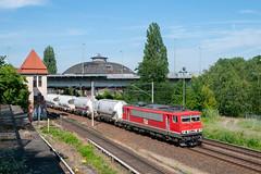 25-6-2019 - Pankow Heinersdorf (berlinger) Tags: pankowheinersdorf berlin deutschland eisenbahn railways railroad meg br155 zementwagen zementzug cementwagon 155249 lokschuppen locoshed