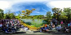 360°   The golden Pavillion (hapePHOTOGRAPHIX) Tags: 360x180 360° 392jpn architektur asia asien drausen equirectangular gewaesser goldenerpavillontempel gruppe honshu honshū japan japón kinkakuji kinkakujicho kioto kontrastreich kyoto kyotoprefecture kyōto landschaft pavillion person prefecturadekioto präfekturkyōto ricohthetas teich templeofthegoldenpavilion templodelpabellóndeoro vrpanorama wasser kiosco landscape pavilion pond quiosco rotunda water 京都市 京都府 本州 金閣寺 金閣寺町