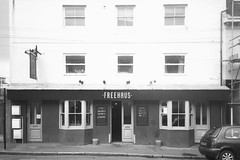 Freehaus (rob orchard) Tags: freehaus pub brighton reservoir film 35mm analog analogu analogue olympus xa2 ilford hp5