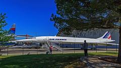 Aeroscopia - Museo Airbus presso aeroporto di Tolosa (Michele Monteleone) Tags: monteleonemichele45 canon 5dmarkiii cielo prato aereo concorde persone tolouse blagnac airbus museo