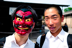 The masked student (hapePHOTOGRAPHIX) Tags: 392jpn asia asien burgnijō castillodenijō eingesicht fujixe3 gesicht honshu honshū japan japón kind kioto kontrastreich kyoto kyotoprefecture kyōto maske nijōcastle object person prefecturadekioto präfekturkyōto teenagerjungererwachsener dsplyys hapephotographix mask 二条城 京都市 京都府 本州 kyōtoshi kyōtofu