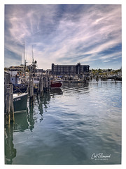 Long Wharf (windshadow2) Tags: unitedstatesofamerica rhodeisland newport water boats pier boat fishing wharf lobster iphone 8s lobstering
