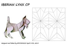 IBERIAN LYNX CP (PICARUELO) Tags: origami lynx lince papiroflexia