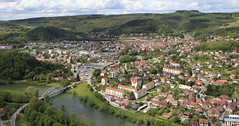 Baume les Dames (gasdub) Tags: europe france doubs ville baume les dames vue view vista riviere river vallee valley panorama panoramic