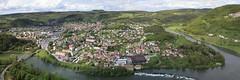 Baume les Dames (gasdub) Tags: europe france doubs ville baume les dames vue view vista riviere river vallee valley croix de chatard panorama panoramic