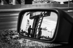 City poem (Listenwave Photography) Tags: street city drive sigma merrill foveon listenwave reflection