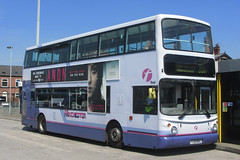First Greater Manchester YJ51 RRU, Ashton-under-Lyne bus station (Mancunian1001) Tags: firstgreatermanchester firstgroup oldham saddleworth mossley ashtonunderlyne delph dobcross uppermill