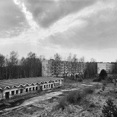 Village Blues (Ralph Graef) Tags: analog film filmphotography monochrome blackandwhite grainy fomapan dystopia abandeoned disused derelicted desolation dilapidated decay urbex kiev