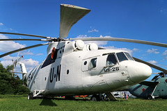 64 BLACK Former United Nations Mil Mi-26 at the State Aviation Museum of Ukraine Kiev on 26 May 2019 (Zone 49 Photography) Tags: aircraft helicopter aeroplane may 2019 kiev kyiv ukraine boryspil international iev ukkk zhuliany state aviation museum soviet united nations mil mi66 mi26 64 black 64black