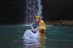 Link and Princess Zelda (mallorymariephoto) Tags: cosplay cosplayer cosplaying legendofzelda fantasy fairytale portrait portraiture hero princess videogames nintendo