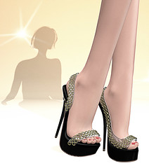 LuceMia - SlackGirl (2018 SAFAS AWARD WINNER - Favorite Blogger -) Tags: slackgirl dubaievent event shoes exclusive colors beauty fashion blog mesh models sl secondlife hud creations lucemia