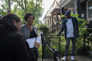 May 15, 2019 MMB Leads Ward 5 Community Walk in Rosedale