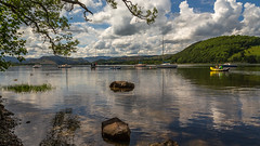 Fluffy Clouds (Ian Emerson (Thanks for all the comments and faves) Tags: lakedistrict cumbria landscape photography lake lakeland outdoor nationaltrust clouds water fells canon6d 24105