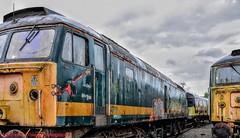 47811 @ Crewe (A J transport) Tags: class47 diesel brushtype4 47811 locomotive railway trains england fgw storage