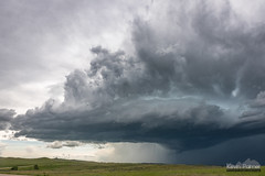 Storm Over Highway 212 (kevin-palmer) Tags: june spring montana nikond750 tamron2470mmf28 storm stormy thunderstorm sky weather clouds severe rain crowindianreservation busby green grass supercell highway212 hills
