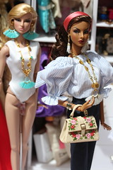 Summer mood (Isabelle from Paris) Tags: fashion royalty doll jewelry isabelle paris jewels