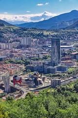 Bilbao Mirador (orkomedix) Tags: canon eosr rf24105f4l bilbao spain guggenheim city view viewpoint stadium clouds