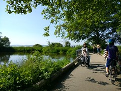Golden Gardens Park (Seattle Parks & Recreation) Tags: marsh pond path handicapped disabled bicycle summer