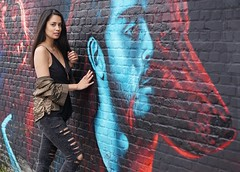 untamed (e³°°°) Tags: untamed portrait portraiture portret posing pose women woman wolf retratos mademoiselle meisje femme model mädchen esmeralda smile stunning antwerp antwerpen anvers chercherlafemme belgium female frau street stunner streetportrait