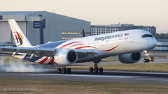 9MMAF A350 Malaysian Airlines (Anhedral) Tags: