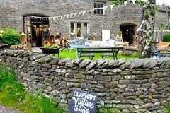 Clapham Village Shop (Adam Swaine) Tags: shops village villages rural ruralvillages yorkshire northyorkshire clapham england english englishvillages britain british walls stonewall uk ukvillages 2019