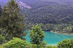 Alps_Aiguebelette_966 (Manohar_Auroville) Tags: alps lac lago lake mountains savoie manohar luigi fedele