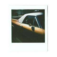 El Camino (itskaty) Tags: lomography lomo diana lomodianainstantsquare dianainstantsquare dianainstant instax instantfilm instantphotography instant instaxsquare fujifilm fujifilminstaxsquare portland pdx oregon elcamino car vintagecar
