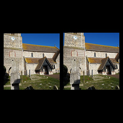 inCollage_20180125_224632694 (Doctormark68) Tags: 3d stereo stereoscopic parallel seaford church norman stleonards